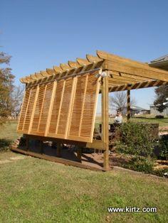 bahama deck shutters | Bahama Shutters - Louver Shutters - Exterior Wood Shutters | Kirtz ...