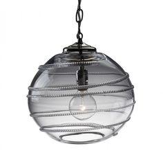 """Amalia 12"""" Globe Pendant, $594, Juliska -- out of stock but I wonder when it will be back because it's beautiful"""