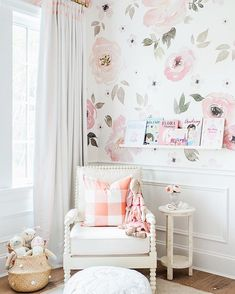 This corner might be my favourite in the whole house. Already so many precious memories here too! http://liketk.it/2p355 @liketoknow.it.home #liketkit #LillyaGraceNursery