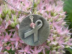 Just got mine and love it!!!     Sterling Silver Breast Cancer or Custom Awareness by Dajamana, $85.00
