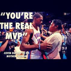 KD's mvp speech was the greatest of all time #classy