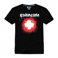 eminem shirts | Eminem splattered short sleeve T shirt