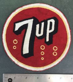 pocket size 7-up collectible embroidered patch THE UNCOLA