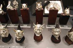 Demon Silver Accessory Design at Design Festa, Tokyo, Japan
