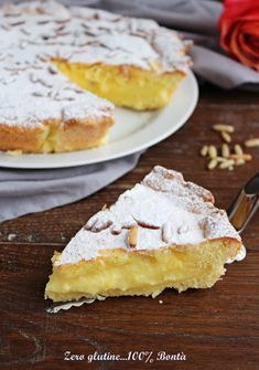 Gluten Free Cakes, Gluten Free Baking, Italian Cake, Torte Cake, Relleno, No Cook Meals, Italian Recipes, Food And Drink, Sweets