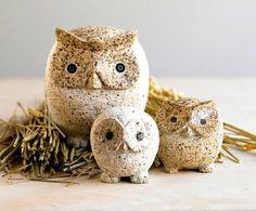 Viva Terra Owl Family - http://www.vivaterra.com/owl-family.html