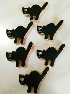 Blackberry cat Galletas de Halloween