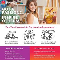 We're looking for #cooks #artists crafts makers #mums #teachers and anyone with a passion to join PassionDig.com as an #experience or #workshop host! Get paid by doing what you love! #dowhatyoulove #passion #crafts #arts #cooking #baking #musician #learning#growth #selfdevelopment
