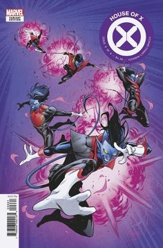 SKOTTIE YOUNG VARIANT MARVEL COMICS 10 2 2019 HOUSE OF X #6 OF 6