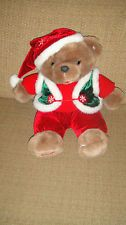 "12"" 2006 Dan Dee Snowflake Teddy Teddy Bear Christmas Stuffed Animal Plush"