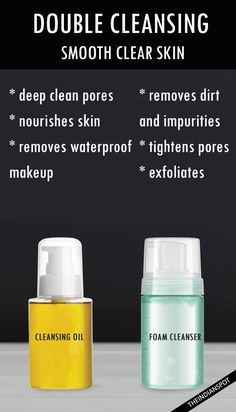 ALL ABOUT DOUBLE CLEANSING METHOD TO GET SMOOTH CLEAR SKIN