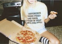 The difference beetween your opinion and pizza