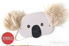 Maska koala zobacz jak ją zrobić