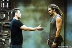 Stargate Atlantis- Michael and Ronon