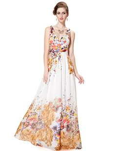 yellow v neck maxi dress amazon