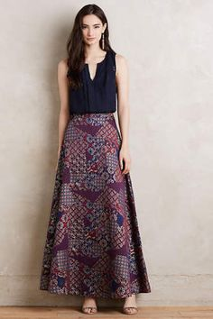ANTHROPOLOGIE-Brocade-Ball-Skirt-by-HD-in-Paris-10-12-Retail-178