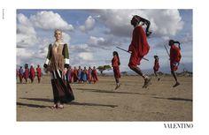 Grife italiana escalou o fotógrafo Steve McCurry para fazer uma verdadeira ode à cultura africana