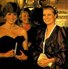 Lady Diana and Princess Grace                                                                                                                                                                                 More