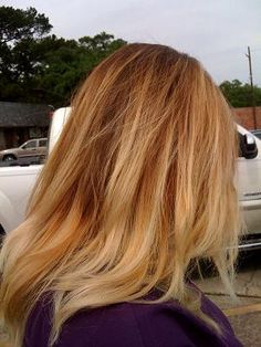 Ombre' hair! for more beauty idea's and tips, visit beautybayou.tumblr.com