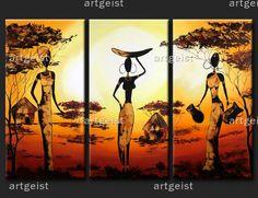 Billedresultat for cuadros modernos Studios D'art, Hamsa Art, Afrique Art, African Art Paintings, Indian Folk Art, Black Art, Traditional Art, Female Art, Modern Art