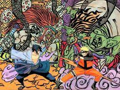 My Favorite! Naruto and Sasuke by Kishimoto Masashi