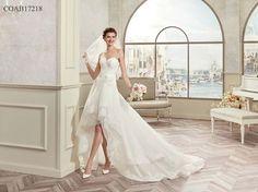 Nella nuova collezione di abiti da sposa Colet per il 2017 ritroviamo lo  spirito romantico e e84ec307ad6