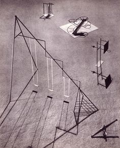 Swings and roundabouts: playground equipment by Isamu Noguchi-