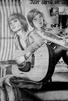 Life Is Strange Photos, Life Is Strange 3, Strange Art, Dontnod Entertainment, Weird Art, Mona Lisa, Fan Art, Adventure, Manga