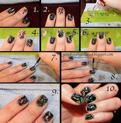 nail art tutorials, nail trend, glasses, wondrous polish, glass tutori, nail arts, stain glass, bright colors, stained glass