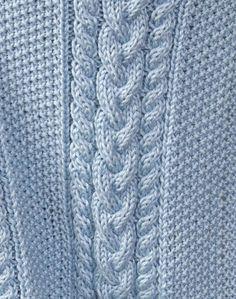 Free Pattern: Little Boy Blue Baby Blanket