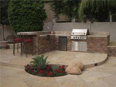 outdoor kitchen patio ideas cedar pergola and bbq lighting. backyard bbq ideas design patio gallery of impressive with outdoor. Backyard Bbq Pit, Desert Backyard, Backyard Landscaping, Arizona Landscaping, Backyard Designs, Landscaping Ideas, Cozy Backyard, Backyard Arizona, Patio Design