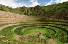 inca ruins in peru | Inca Ruins Of Moray* An Archaeological Site In Peru Approximately 50 ...