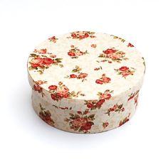 Schachteln - Hutschachtel,Schachtel,Rosen,Kästchen,Blumen,Box - ein Designerstück von ars-unica bei DaWanda