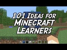 101 Ideas for Minecraft Learners - YouTube