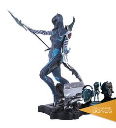 Mag Limited Edition Collector's Statue – The Official Warframe Store