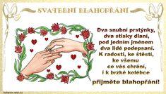 Svatební přání obrázky, citáty a animace pro Facebook - ObrazkyAnimace.cz Program, Facebook