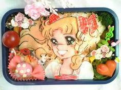 Candy Candy bento box. Can I say I am really impressed on that one !!!