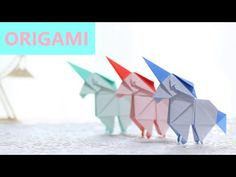 Discover one of the most adorable origami unicorn models out there. This design is by the new origami designer Yudai Imai. The video tutorial is made Origami Ball, Diy Origami, Origami Paper Folding, Origami Templates, Cute Origami, Origami Fish, Paper Crafts Origami, Origami Design, Origami Stars