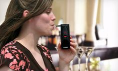Groupon - $29 for an AlcoHawk Slim Digital Breathalyzer in Black or Silver ($79.99 List Price) in Online Deal. Groupon deal price: $29.00