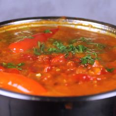 Balkan Salsa (Pindjur) - Balkan Lunch Box - Balkan Salsa (Pindjur) Pindjur is a luscious salsa-like spread made by roasting tomatoes and peppers, and then simmering them over medium heat with herbs and garlic. Lunch Box Recipes, Dinner Recipes, Chutney, Turkish Recipes, Ethnic Recipes, Comida India, Macedonian Food, Healthy Slow Cooker, Salsa Recipe