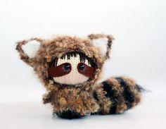 amigurumi-mapache