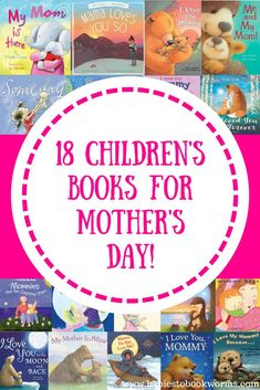 Babies to Bookworms provides a list of 18 beautiful books for Mother's Day that celebrate a mother's love and the beautiful relationship between moms and their kids. Mothers Day Book, Mothers Day Crafts, Mothers Love, Mother's Day Activities, Reading Activities, Parenting Books, Parenting Tips, All Family, Fun Learning