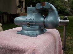 This 4-1/2 Swivel Jaw sold for almost $700 on e-bay. Gregg a good friend of mine restored it.