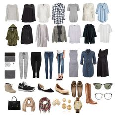 Fall/Winter Maternity Capsule Wardrobe