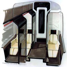 concept train interior design - Google Search