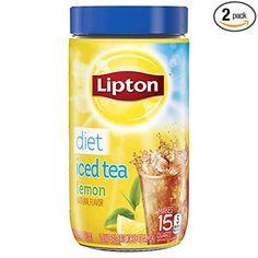 Peach Ice Tea, Peach Juice, Iced Tea Mix, Lipton Ice Tea, Making Iced Tea, Lemon Diet, Flavor Ice, Perfect Glass, Lemon Filling