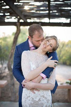 Shannon & Luke's Spring in the Desert Wedding // Photography: Evan Robold Photography // Wedding Planning: Lindsay Bishop Events // Venue: San Pedro Chapel #tucsonwedding #desertwedding #weddingphotography #weddingportraits #laceweddingdress #southwesternwedding