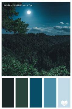Green Color Pallete, Bedroom Colour Palette, Green Color Schemes, Nature Color Palette, House Color Schemes, Blue Colour Palette, Bedroom Color Schemes, House Colors, Green Colors