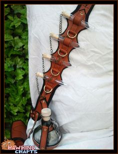 This Bandolier Holds Everything An Alchemist Needs