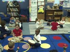 "A music class activity with a ""double kindergarten"" class - YouTube"